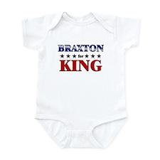 BRAXTON for king Infant Bodysuit