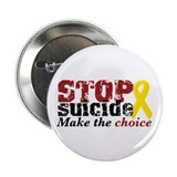 "STOP suicide make choice 2.25"" Button (10 pack)"