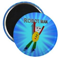 "Funny Construction 2.25"" Magnet (10 pack)"
