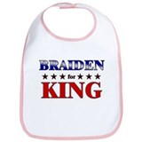 BRAIDEN for king Bib