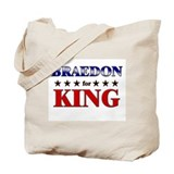 BRAEDON for king Tote Bag