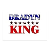 BRADYN for king Postcards (Package of 8)