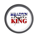 BRADYN for king Wall Clock