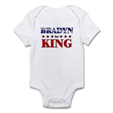 BRADYN for king Infant Bodysuit