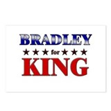 BRADLEY for king Postcards (Package of 8)