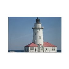 Lighthouse, Chicago, IL Rectangle Magnet