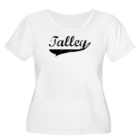 Talley (vintage) Women's Plus Size Scoop Neck T-Sh