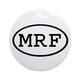 MRF Oval Ornament (Round)