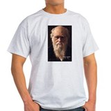 Charles Darwin: Evolution Ash Grey T-Shirt