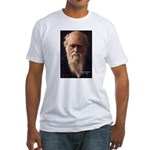 Charles Darwin: Evolution Fitted T-Shirt