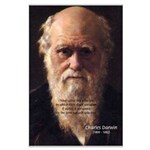Charles Darwin: Evolution Large Poster
