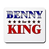 BENNY for king Mousepad