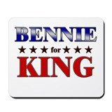 BENNIE for king Mousepad