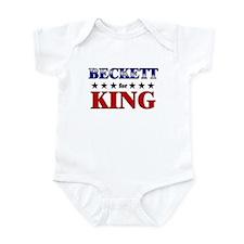 BECKETT for king Infant Bodysuit