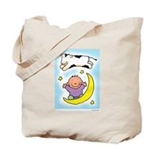 cow jumping over the baby Tote Bag