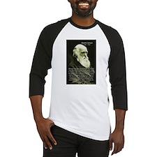 Charles Darwin: Science Baseball Jersey