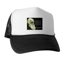 Charles Darwin: Science Trucker Hat