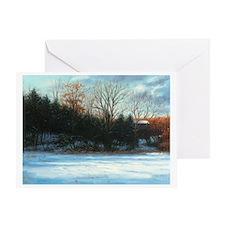 """Stillwater Evening"" Greeting Card"