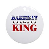 BARRETT for king Ornament (Round)