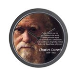 Charles Darwin: God Creation Wall Clock