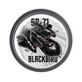 SR-71 BlackBird Wall Clock