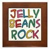 Jelly Beans Rock Framed Tile