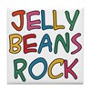 Jelly Beans Rock Tile Coaster