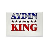 AYDIN for king Rectangle Magnet