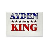 AYDEN for king Rectangle Magnet (10 pack)