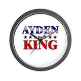 AYDEN for king Wall Clock