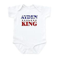 AYDEN for king Infant Bodysuit