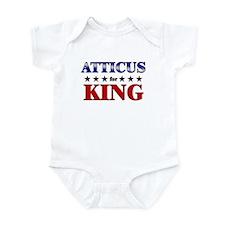 ATTICUS for king Infant Bodysuit