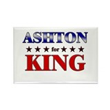 ASHTON for king Rectangle Magnet (10 pack)