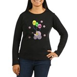 It's A Girl Women's Long Sleeve Dark T-Shirt