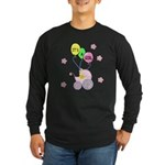 It's A Girl Long Sleeve Dark T-Shirt
