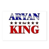 ARYAN for king Postcards (Package of 8)