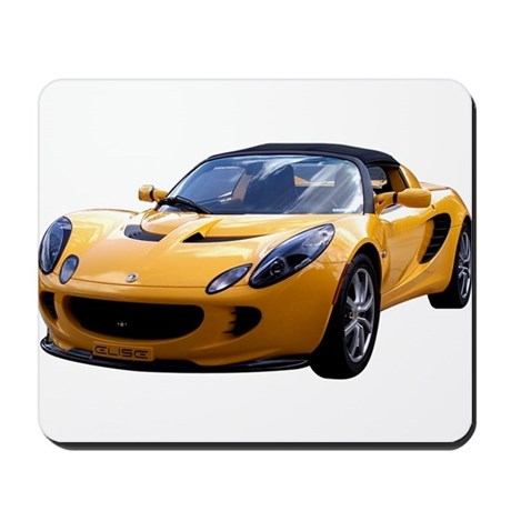Yellow Elise Mousepad