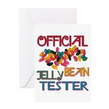 Jelly Bean Tester Greeting Card