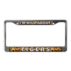 Tiger License Plate Frames