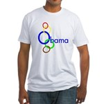 Linked Colors O Obama Fitted T-Shirt