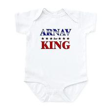 ARNAV for king Infant Bodysuit