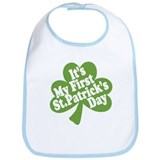 My First St. Patrick's Day Bib