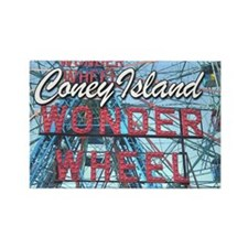 Coney Island Wonder Wheel Rectangle Magnet