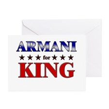 ARMANI for king Greeting Cards (Pk of 10)