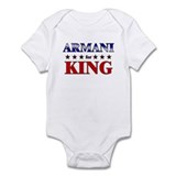 ARMANI for king Onesie