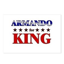 ARMANDO for king Postcards (Package of 8)