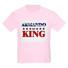 ARMANDO for king T-Shirt
