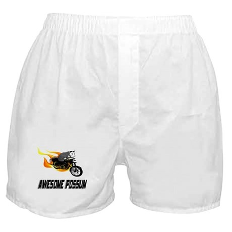 Flaming Awesome Possum Boxer Shorts