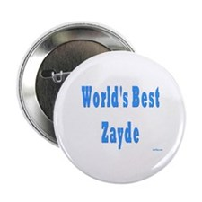 "World's Best Zayde 2.25"" Button"