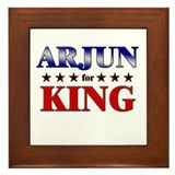 ARJUN for king Framed Tile